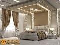 faux plafond platre chambre à coucher