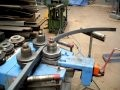 ferronnerie d'argoat  cintrage d'un profil en fer T de 50 mm.AVI