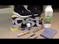 Comment peindre en noir une semelle Boost Tuto sur l'adidas Ultra Boost Uncaged