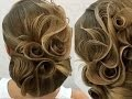 Sublime hair bun leafs n' roses by @georgiykot