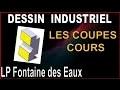 DESSIN INDUSTRIEL - COURS - LES COUPES