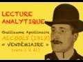Lecture analytique APOLLINAIRE / VENDÉMIAIRE