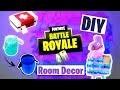DIY FORTNITE Room Decor : Llama, Potion & Medkit (français)