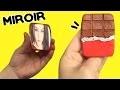 DIY miroir de poche tablette de chocolat �┃Reva ytb