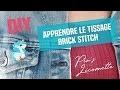 TUTO | Apprendre Tissage Brick Stitch Aiguille avec Perles Miyuki Delicas Broche Licorne Miyuki