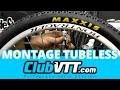 Montage pneu tubeless vtt - 3 conseils - 300