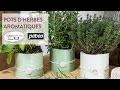 DIY créatif : Pots d'herbes aromatiques en plâtre - Botanique Nature