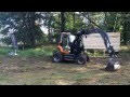 DIVERTO : Diverto QS 100, tracteur porte-outils compact pour espaces-verts, paysage, forêt et TP