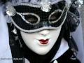 Masques Carnaval Venise 2010 : le Rouge et le Noir