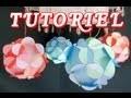 Ball Paper 3D (Boule avec des fleurs en papier) HD