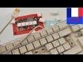 Faire du neuf avec du vieux | 3 idées à partir d'un vieux clavier d'ordinateur | Aimants, Pancarte