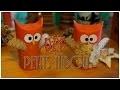DIY - Toilet Roll Owl - Des Hiboux avec des rouleaux de papiers toilette ♡
