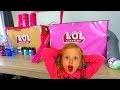 LOL Surprise : La FABRIQUE en Carton à BOULES & Poupee
