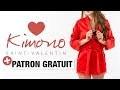 Tuto DIY - Confectionnez un kimono pour la Saint-Valentin !