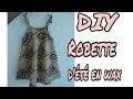 DIY\ COUDRE UNE ROBE  D'ETE PETITE FILLE  EN WAX\\ DEBUTANT