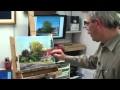 Démonstration de peinture. 2ème partie. Réalisation d'un paysage Alla Prima par René Milone