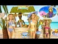 Barbie Vacances Plage et Plongée 🌸Histoires de Poupées