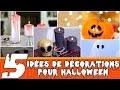 5 Décorations d'Halloween à fabriquer soi-même