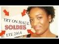 """TRY ON HAUL"" ACHATS SOLDES LOOKBOOK  (ETE 2014) H&M,ZARA,MANGO,UNDIZ,TEXTO"