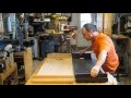 Fabrication d'un panneau de table