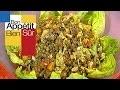 Salade de lentilles à l'huile de noix