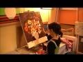 Cours de peinture enfants 2008 à l'atelier Rêve Evasion