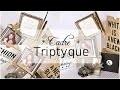 Cadre triptyque EmbelliScrap par Floliescrap tutoriel