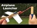 Comment Faire Le Lanceur D'avion Le Plus Simple À La Maison - Planeur En Carton