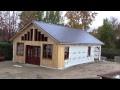 L'gosseux d'bois Ep 65   Construction de mon nouvel atelier partie 12   Les murs extérieur