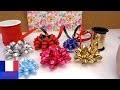 DIY fabriquer soi-même des étoiles avec du ruban | Déco pour les cadeaux | Noël et Anniversaires
