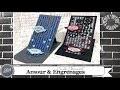 """Vidéo-Tuto """"Carte Chevalet * Amour & Engrenages"""" par Coul'Heure Papier"""