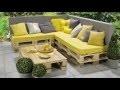 Banc lounge et table en palettes - Etape par étape - Pour les Makers