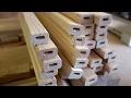 Passerelle bois de mezzanine - les garde-corps - partie 1