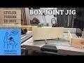 Gabarit de scie pour assemblage à queues droites / BOX JOINT JIG