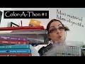 Color-A-Thon #1 - Matos & Objectifs pour ce week-end de coloriage