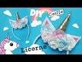 DIY LICORNE N°3 COIFFE SERRE TÊTE / DIY UNICORN