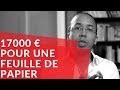 17 000 euros pour une feuille de papier