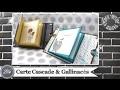"""Vidéo-Tuto """"Carte Cascade & Gallinacés"""" par Coul'Heure Papier"""