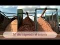 La fabrication des bûches de bois densifié Woodstock