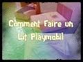 {TUTO} Faire un lit Playmobil