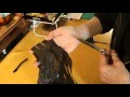 Couper 1 sac plastique en 1 fil continu.