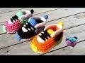 Baskets Nike bébé crochet 1/3 / Nike sneakers crochet (english subtitles)