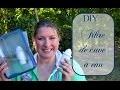 DIY : fabriquer un filtre de cuve à eau