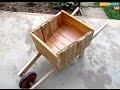 Bricolage : Comment fabriquer une brouette décorative en bois pour jardin