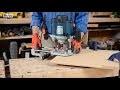 Utiliser une défonceuse - Tuto bricolage avec Robert pour le travail du bois à la défonceuse