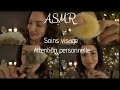 Roleplay ASMR 🎧 Soins visage * Attention personnelle