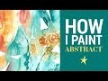 Peindre de manière abstraite à l'aquarelle