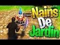 DÉFIS | TROUVER les NAINS de JARDIN sur FORTNITE Battle Royale !!