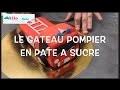 Tuto Gâteau d'Anniversaire Camion de Pompier Gateau en pâte à sucre