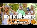DIY DÉGUISEMENTS D'HALLOWEEN | FACILES & RAPIDES!